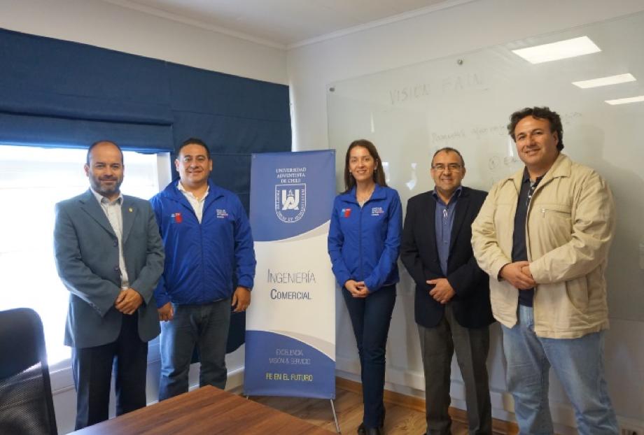Proyecto UnACh-CDN (Centro de Desarrollo de Negocios) Chillán
